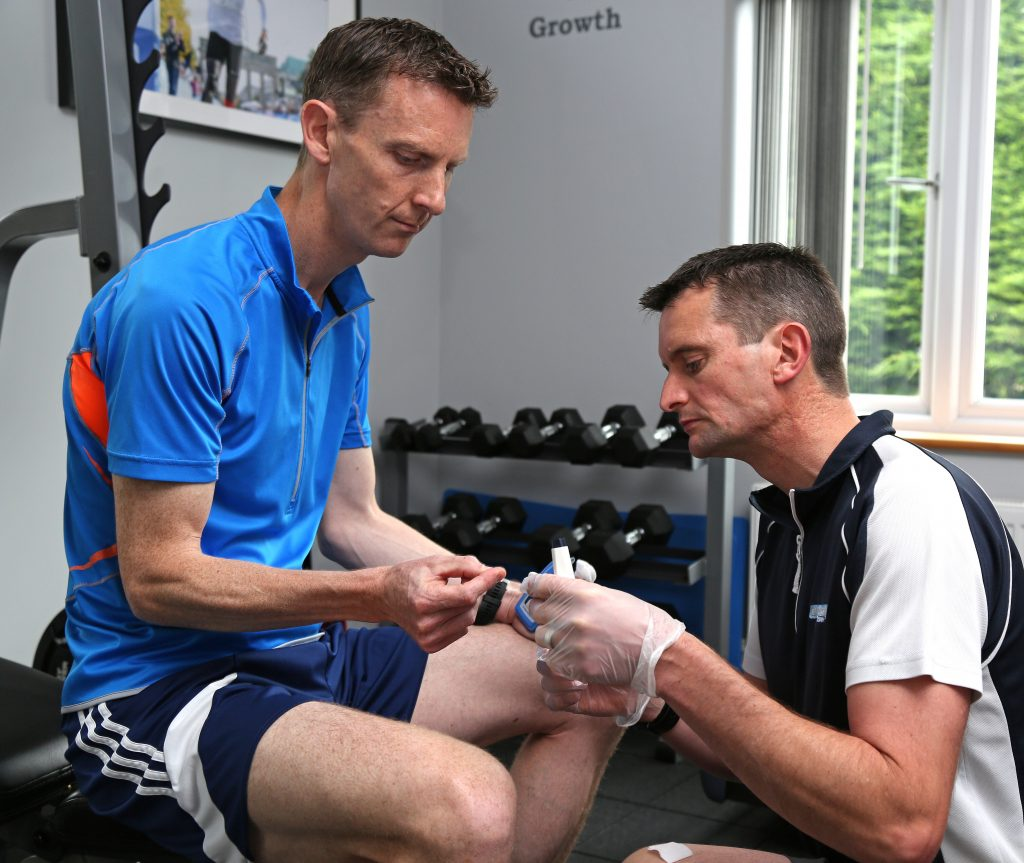Athlete's Fitness Assessment at ExtraFit Health & Performance
